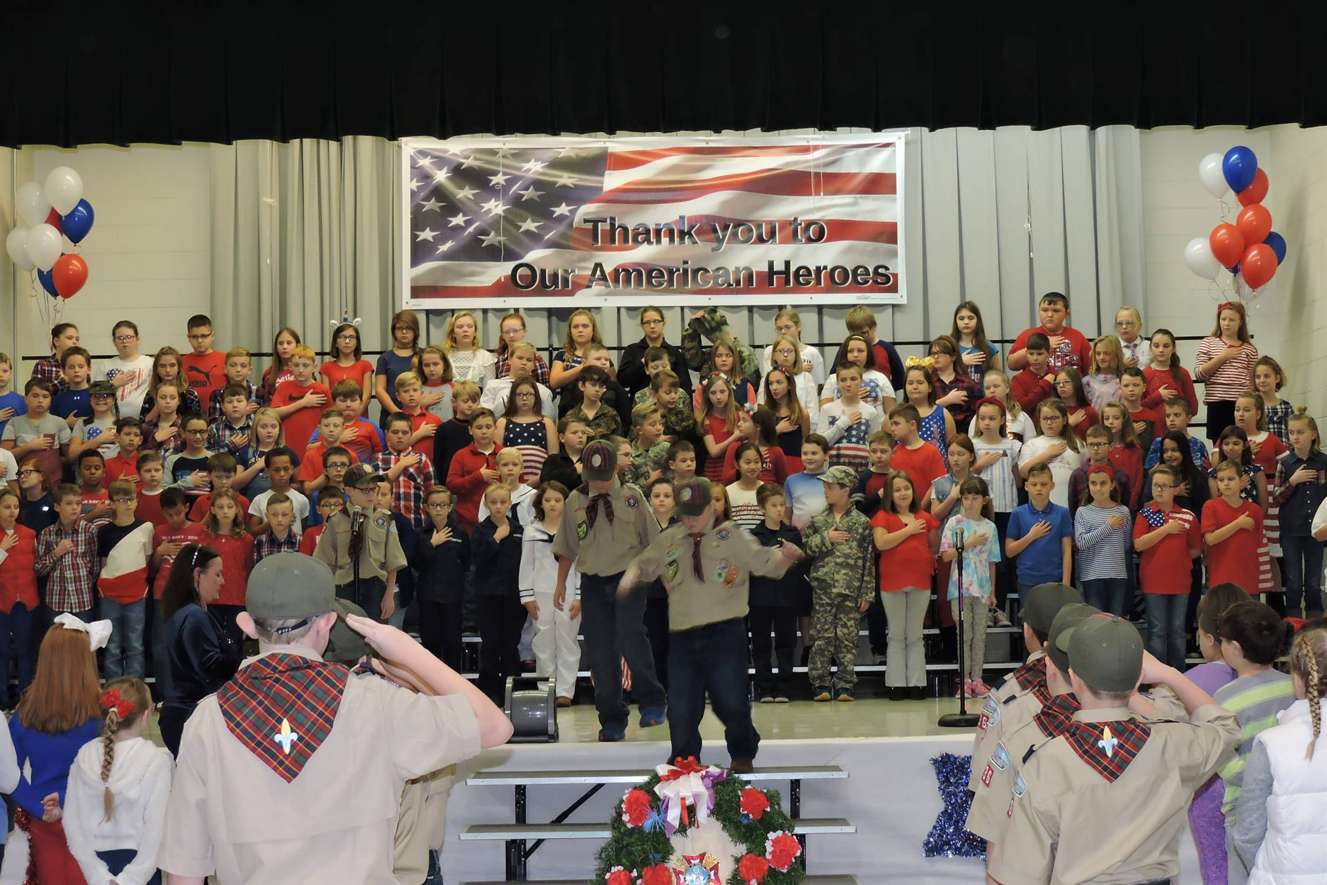 Veteran's Day Program 2018