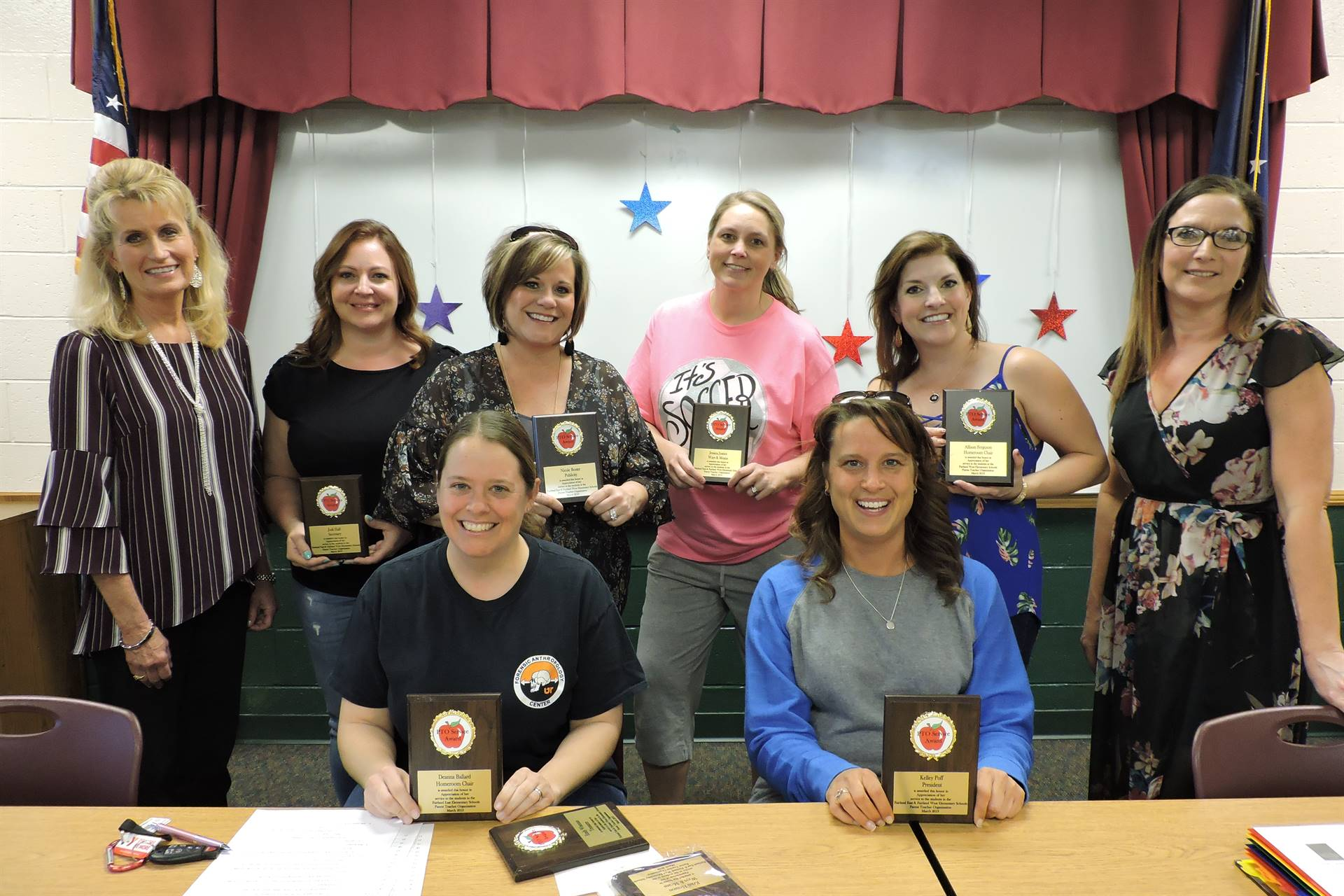 PTO officers and Principals