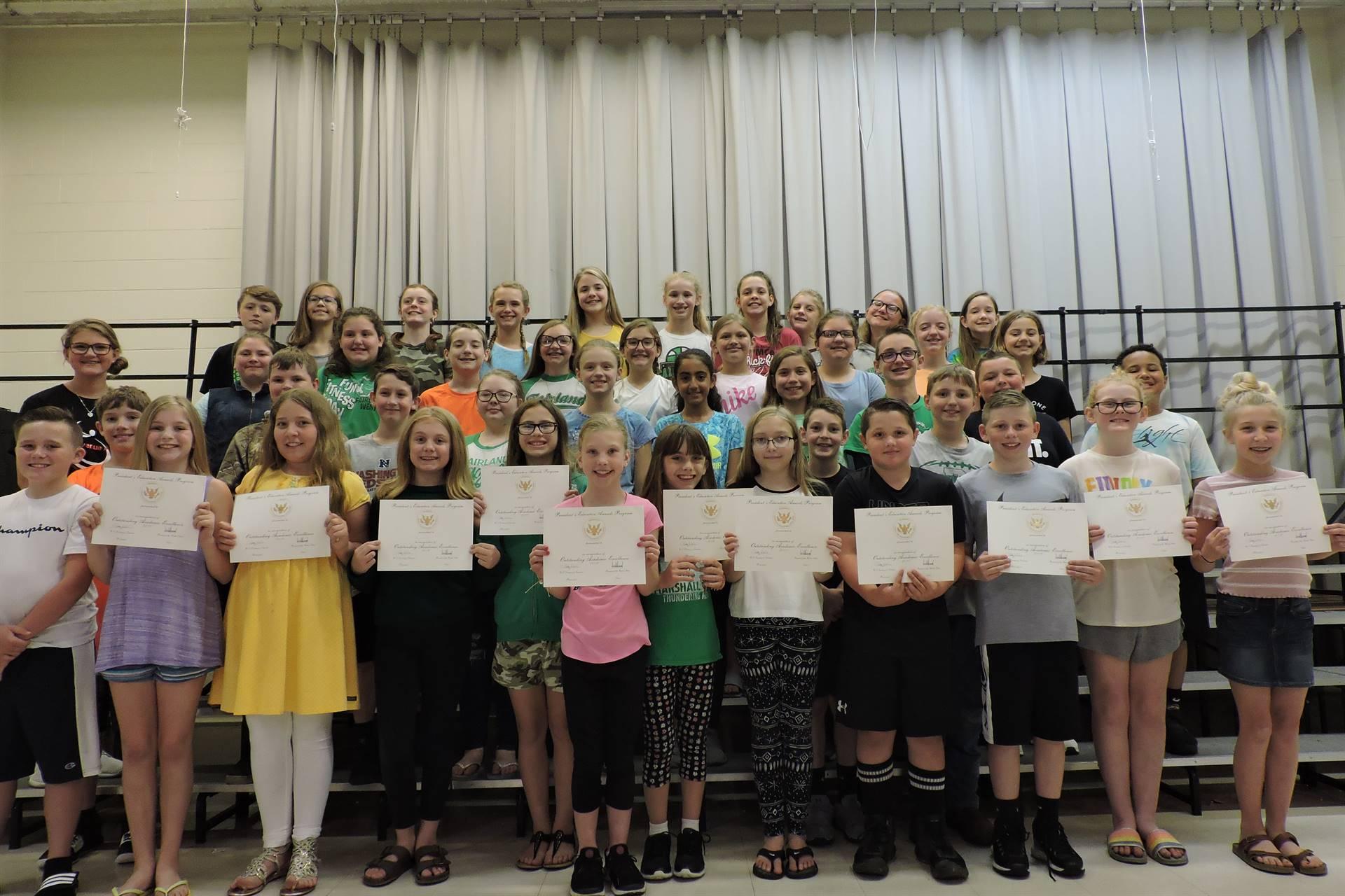 Fifth Grade Awards