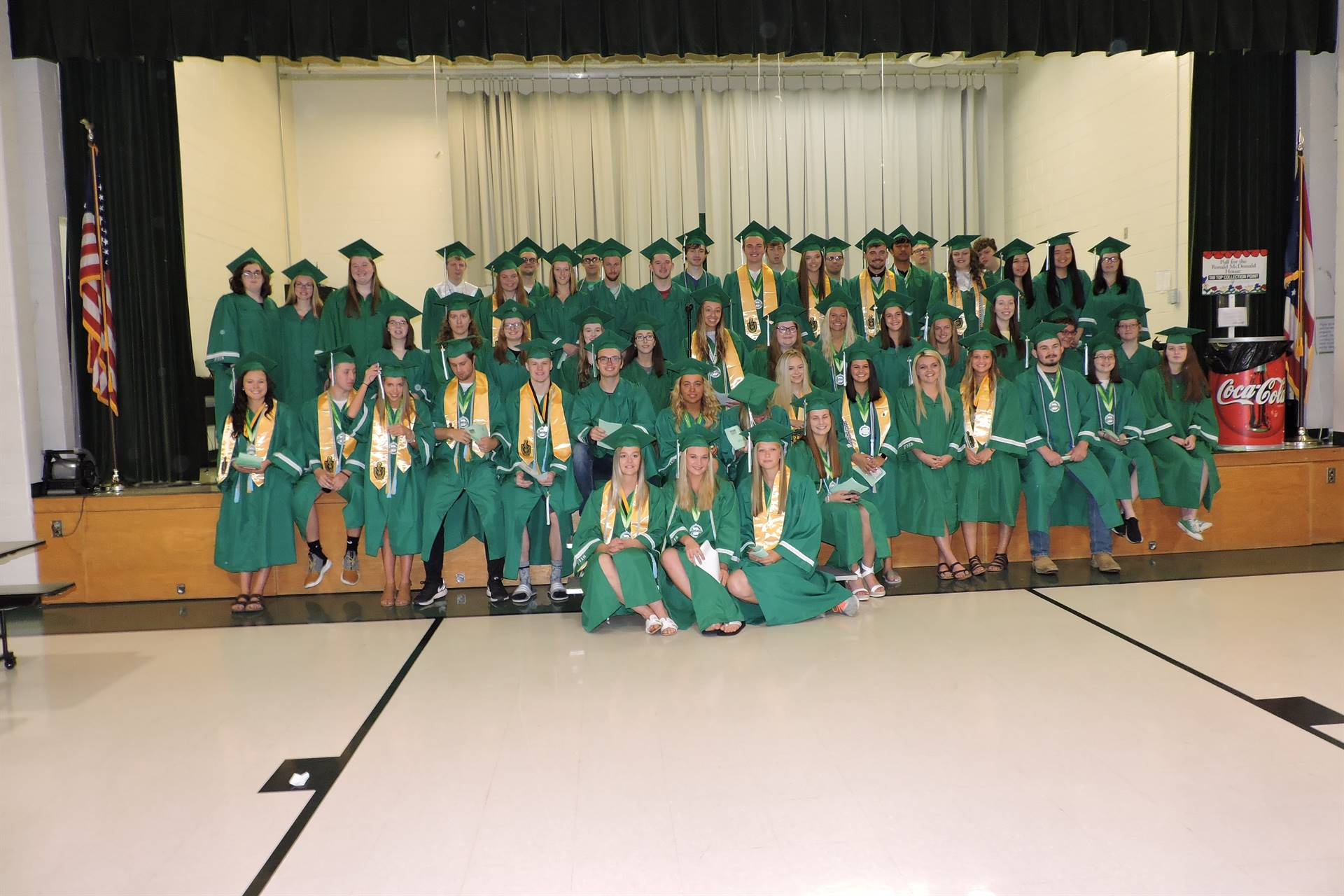 FHS Class of 2019 visit their Elementary School one last time.