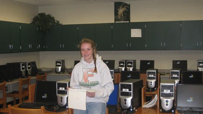 Computer Lab with Lauren